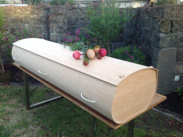 Bamboo casket Kooyong